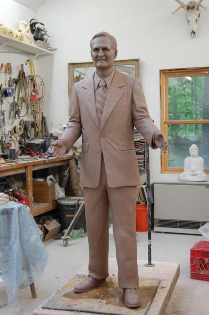 Keropian Bronze Sculpture Dr Albert Simone Rit