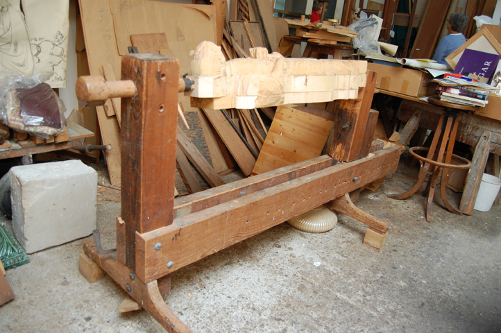 wood carving vise  1