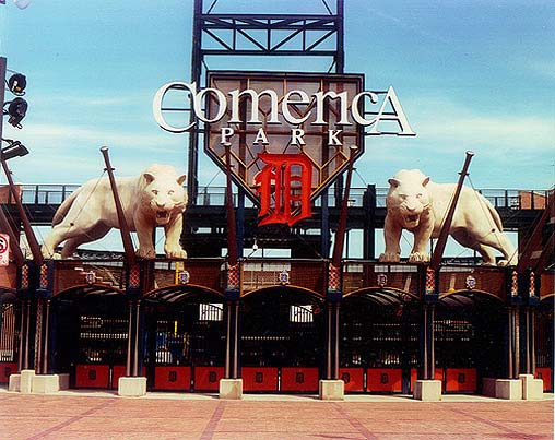 south gate tigers comerica park